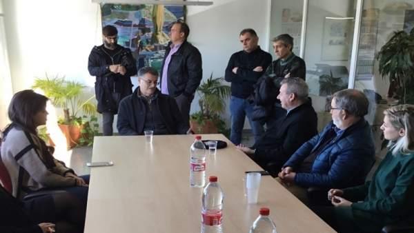 Reunión entre el Puerto de Motril y SAT Campos de Granada