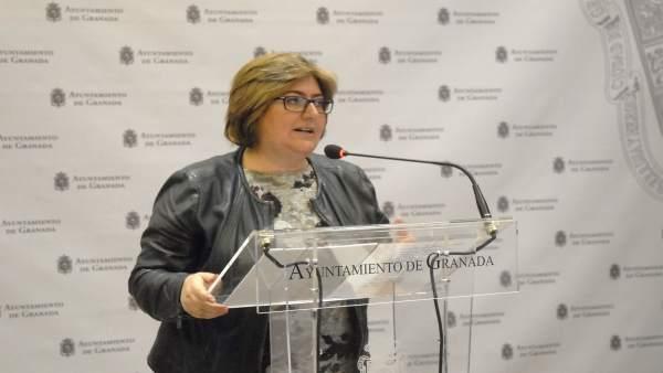 La concejal de Presidencia y Empleo, Ana Muñoz