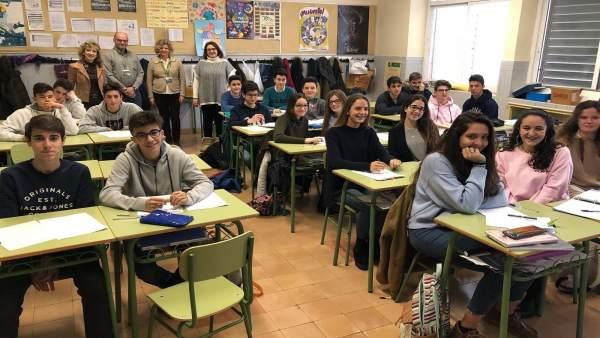 Presentación de los talleres para estudiantes de fomento del emprendimiento.