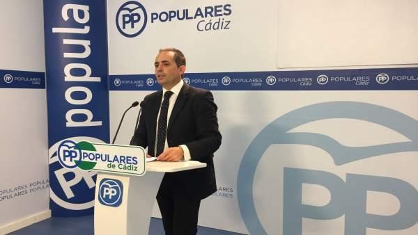 El parlamentario popular, Antonio Saldaña
