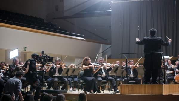 L'Orquestra de València intervé en el rodatge de la pel·lícula 'Tornar a casa'