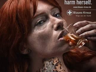 Un alcohólico no solo se hace daño a sí mismo