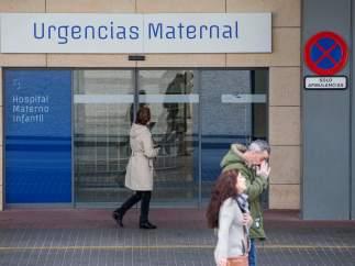 Niña que dio a luz en Murcia