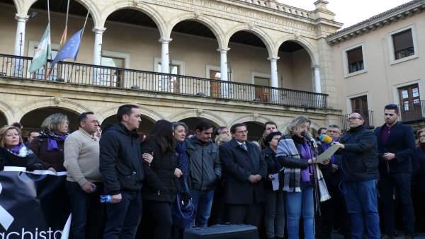 Fotos Concentración Guadix Y Declaración Institucional