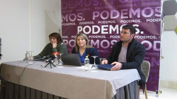 Carmen Santos y Juan Merlo, Podemos Galicia