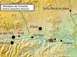 Terremoto registrado en Arboleas