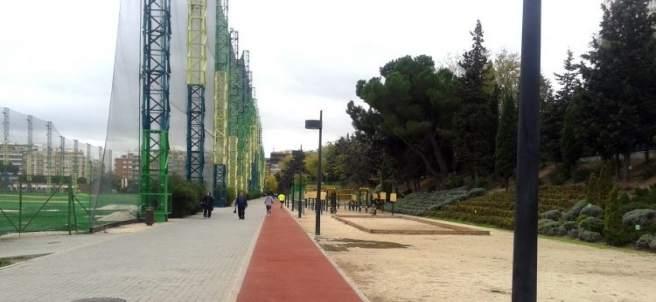 Campo de golf del Canal en Chamberí