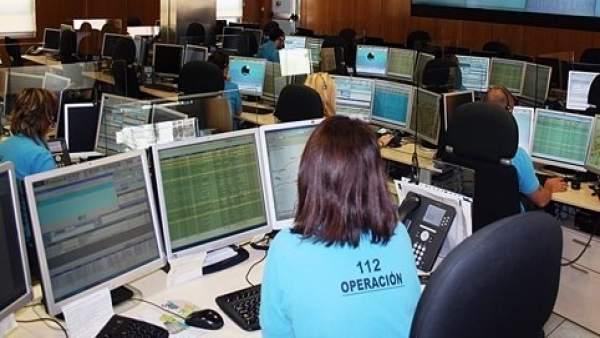 Imagen del Servicio de Emergencias 112 de CyL