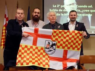 Rueda de prensa de Tabarnia en Madrid