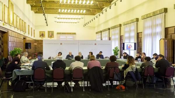 Reunión para que Zaragoza sea Ciudad amiga de la infancia