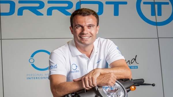 El presidente de Torrot/Gas Gas Iván Contreras