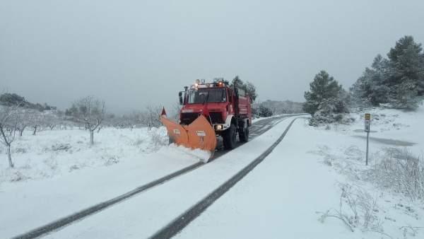 Declarada emergència a Castelló, on es recomana evitar l'A23, N232 i N234