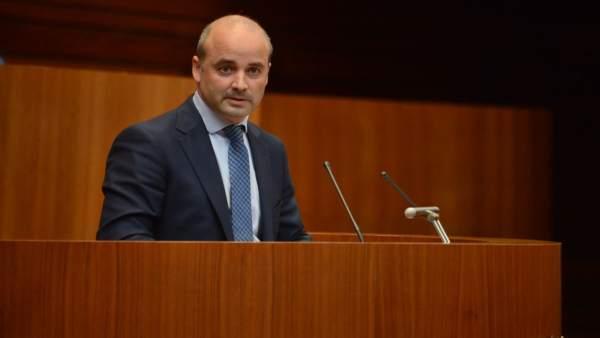 David Castaño, procurador de Ciudadanos.