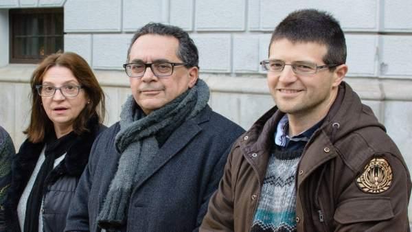 Miembros de la mesa de coordinación de Vamos Granada