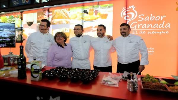Sabor Granada se promociona en el Salón de la Innovación y la Hostelería