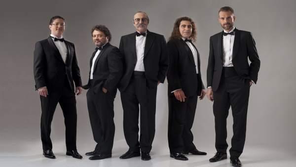 Cantores de Híspalis, en Salamanca.