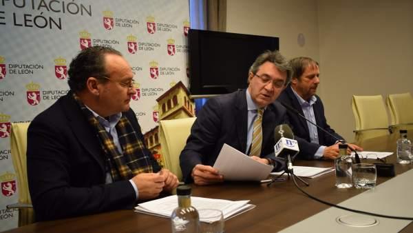 Juan Martínez Majo, en rueda de prensa.