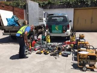 Operación Yankie por robos en naves industriales en Galicia