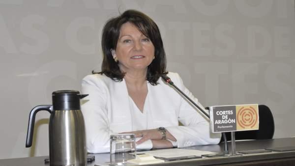 La diputada del PP, Rosa Plantagenet, hoy en las Cortes