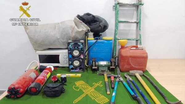 La Guardia Civil Detiene Al Presunto Autor De Robos Continuados En Casas De Camp