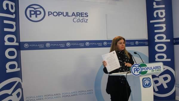 La parlamentaria del PP Tersa Ruiz-Sillero