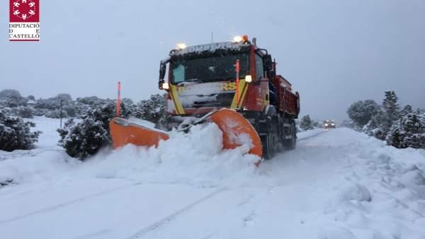 Finalitza l'emergència decretada a Castelló per nevades