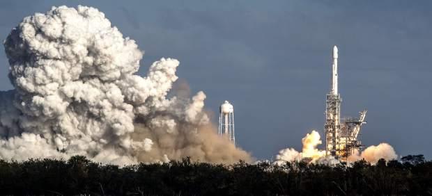 El Falcon Heavy, de SpaceX