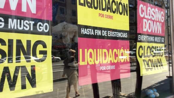Rebajas, liquidación, compras, comercio, consumo