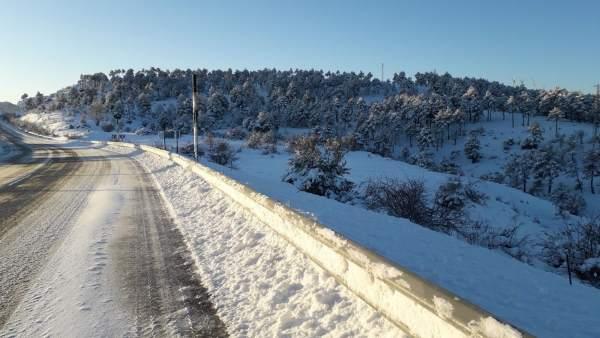 Pluges febles en la mitat sud, cota de neu en 400 metres i mínimes de -4ºC aquest dimecres a la Comunitat Valenciana