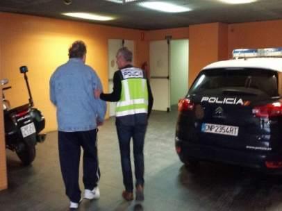 El detenido en dependencias de la policía