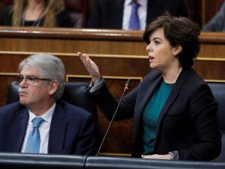 Soraya Sáenz de Santamaría y Alfonso Dastis