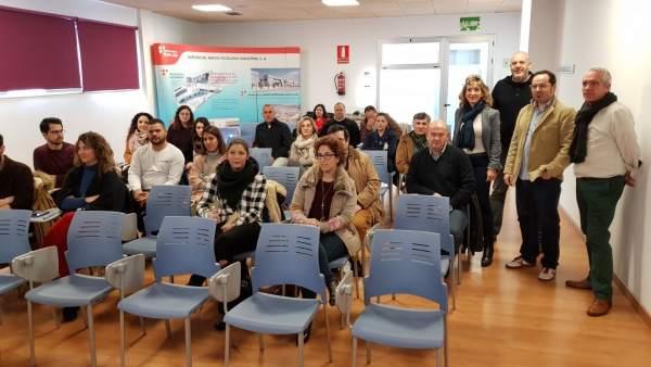 Inauguración del curso sobre uso de la imagen de empresa en el entorno digital.