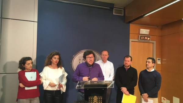 Partidos firmantes de los acords pel canvi