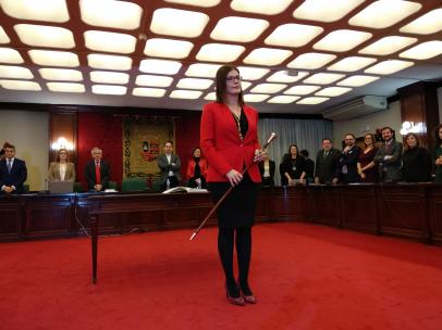 Noelia Posse, nueva alcaldesa de Móstoles