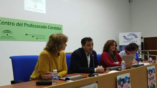 López interviene durante la inauguración del encuentro