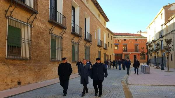 Sánchez Quero ha visitado hoy Pedrola (Zaragoza)