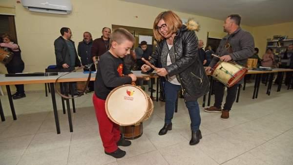 Nota Visita Escuela Provincial De Tamborileros
