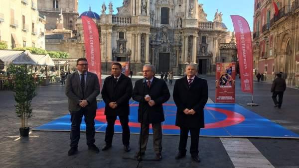 Presentación del 84º Campeonato de España Senior de Luchas Olímpicas