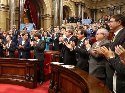 Pleno independencia Cataluña