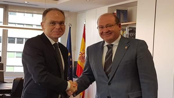 Reunión del alcalde con el presidente de Adif