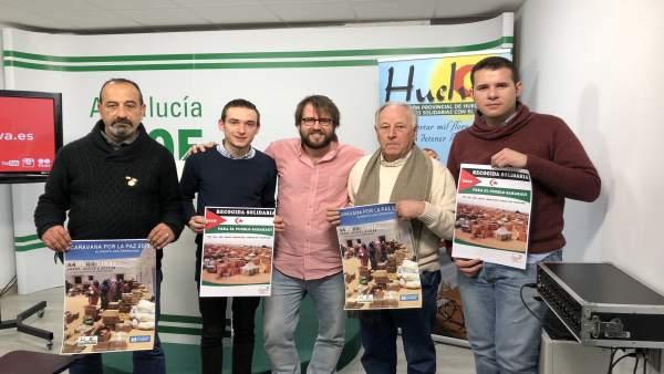 JJSS presenta una campaña de recogida de alimentos para el pueblo saharaui.