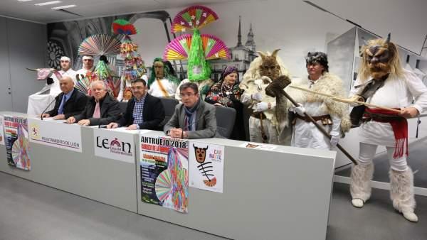 El Antruejo Será Un Año Más El Gran Protagonista Del Carnaval De León