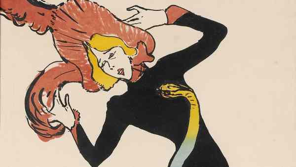 Cartel Toulouse-Lautrec belle époque