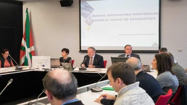 Reunión del Consejo de Estadística de Euskadi