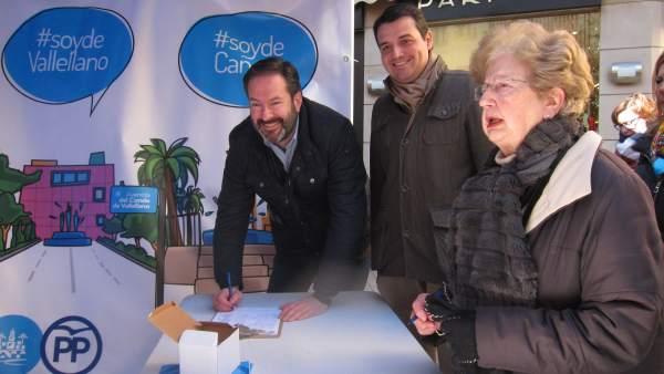 José María Bellido y Adolfo Molina en la campaña '#NoMeToquesLasCalles'