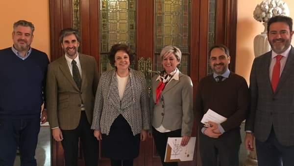 Rueda de prensa de presentación de Expobelleza Andalucía 2018.