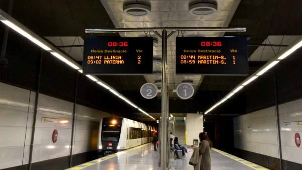 Estación de Metrovalencia.