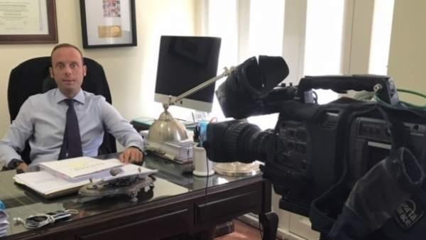 El abogado Javier Rincón de Rinber Abogados