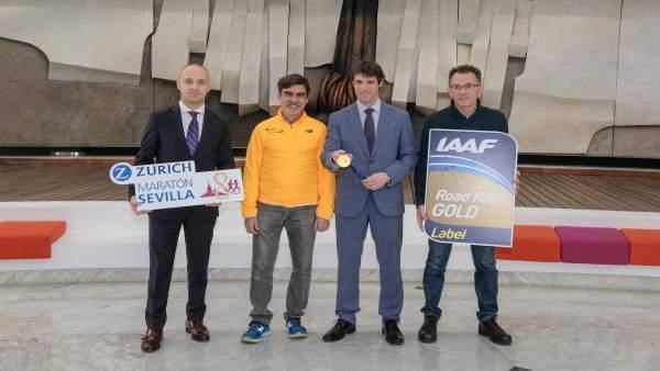Presentación de la Zurich Maratón