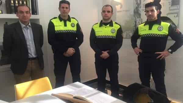 Nuevos policías locales de Cáceres